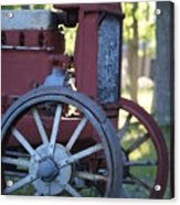 Front End Of A Mccormic Deering Tractor Acrylic Print