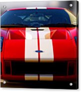 Front Ford Gt Acrylic Print