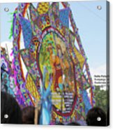 Mayans And Conquistador Giant Kite Acrylic Print