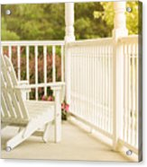 Front Porch In Summer Acrylic Print