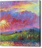 Front Range Sunset Acrylic Print