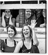Front Row Spectators Acrylic Print