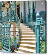 Front Steps To John Rutledge Home Acrylic Print