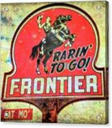 Frontier Gas Acrylic Print
