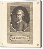 Frontispiece: J.j. Rousseau Acrylic Print