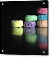 Froot Loops Acrylic Print