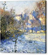 Frost Acrylic Print by Claude Monet