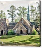 Frost Memorial Chapel Acrylic Print