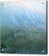 Frost On North Facing Window Acrylic Print