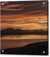 Frostakjoahals Ridge Iceland 1234 Acrylic Print