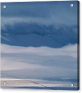 Frosted San Luis Valley - Colorado Acrylic Print
