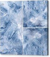 Frostwork ...2584 Acrylic Print