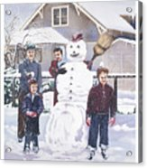 Frosty In Fifty Acrylic Print