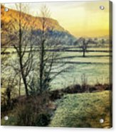 Frosty Morning Light Acrylic Print