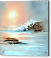 Frosty Seas Acrylic Print
