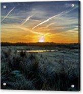 Frosty Sunrise Acrylic Print
