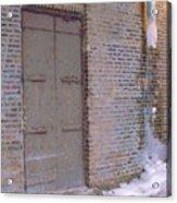 Frozen Alley II Acrylic Print