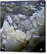 Frozen Blue 3 Acrylic Print