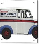 Frozen Custard On Wheels Acrylic Print