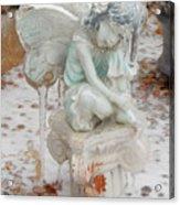 Frozen Fairy Acrylic Print