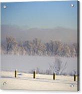 Frozen Fog Acrylic Print