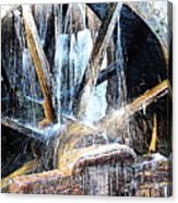 Frozen - John P. Cable Grist Mill Acrylic Print