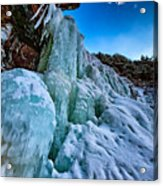 Frozen Kaaterskill Falls Acrylic Print