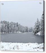 Frozen Lake 1 Acrylic Print