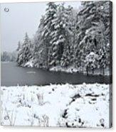 Frozen Lake 2 Acrylic Print