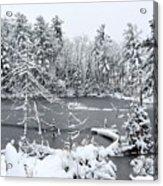 Frozen Lake 3 Acrylic Print
