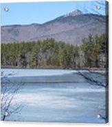 Frozen Lake Chocorua Acrylic Print