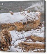 Frozen Land Acrylic Print