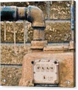 Frozen Meter Acrylic Print