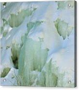 Frozen Moss Glen Falls Acrylic Print