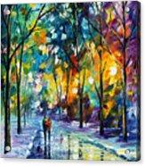 Frozen Night Acrylic Print