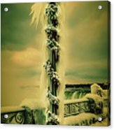 Frozen Over Niagara Falls Acrylic Print