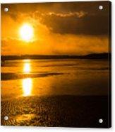 Frozen Sunset Acrylic Print