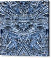 Frozen Symmetry Acrylic Print