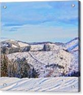 Frozen Valley 2 V3 Acrylic Print