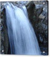Frozen Water Acrylic Print