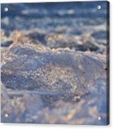 Frozen Wave Acrylic Print