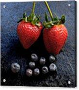 Fruit And Slate Acrylic Print