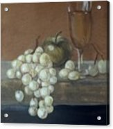 Fruit And Wine Acrylic Print
