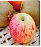 Fruit Basket. Apple. Acrylic Print
