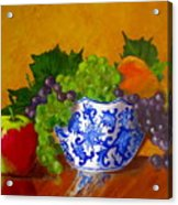 Fruit Bowl II Acrylic Print
