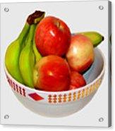 Fruit Bowl Still Life Acrylic Print
