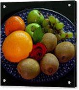 Fruit Dish Acrylic Print