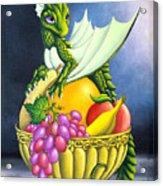 Fruit Dragon Acrylic Print