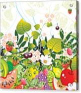 Fruit Garden Acrylic Print