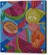 Fruit Mix Acrylic Print